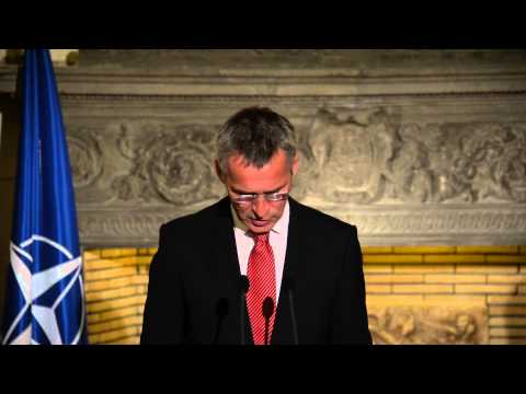 NATO Secretary General - Joint press point with the Greek Prime Minister