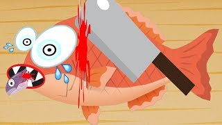 Fun Cooking Game for Kids - How to Make Yummy Sushi! - Educational Game