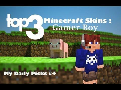 Gamers de Minecraft Gamer Boy Minecraft Skin