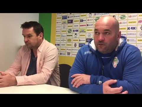 Tisková konference po utkání FK Viktoria Žižkov - FC Hradec Králové 2:0