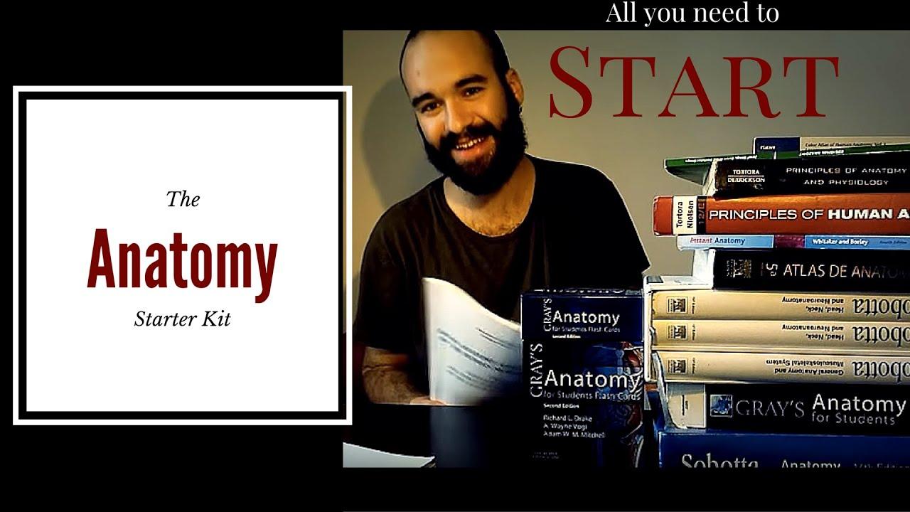 How to study for anatomy exam