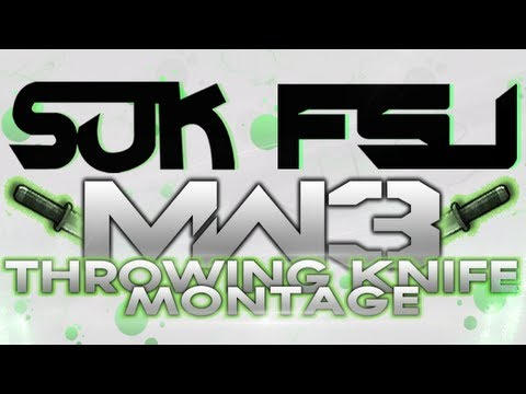 SUK FSU - Episode 26 (MW3 Throwing Knife Montage)