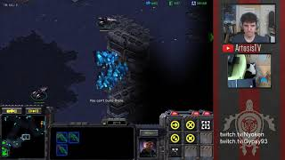 StarCraft Remastered 1v1 (FPVOD) Artosis (T) vs G5 (P) Gladiator