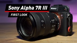 Sony Alpha 7R III: Profikamera im First Look