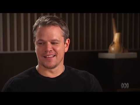 Matt Damon on the importance of not being nervous