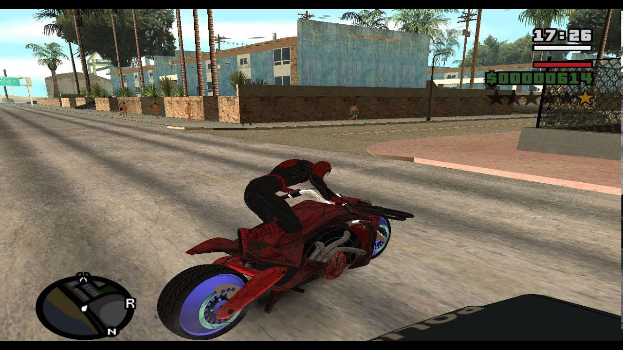 Gta San Andreas Superman Mod Cars Gta San Andreas Spiderman Mod