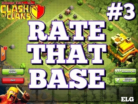 Awesome Farming Base Town Hall 7 - Rate That Base #3 - Clash of Clans