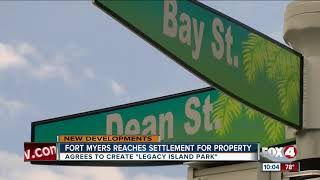 Fort Myers reaches settlement in building a park