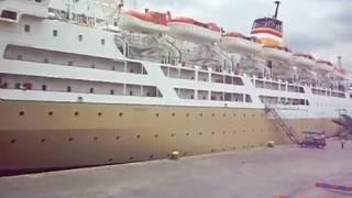 Pelni Ship KM Nggapulu Klakson