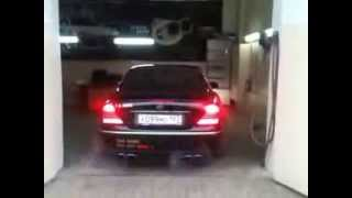 Amazing Sound Exhaust System Тюнинг Краснодар спорт выхлоп Mercedes CL500 W215 (tuning-elite.com)