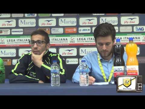Le dichiarazioni di Francesco Favasuli in sala stampa al termine di Juve Stabia-Messina 2-1, match valido per la 30a giornata del Girone C della Lega Pro Divisione Unica 2015/16.