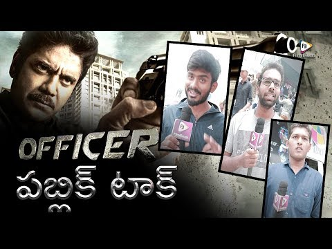 Officer Movie Public Talk || Nagarjuna, Myra Sareen, Ram Gopal Varma || FilmiEvents