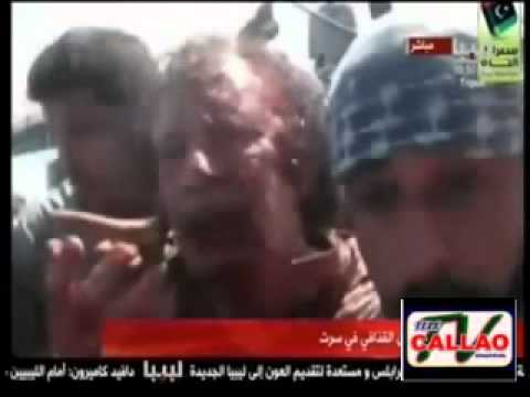 Muerte De Muamar Gadafi - Lo Que No Se Vió video