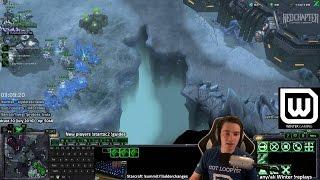 Starcraft 2 - Super Intense Late Game Terran vs Zerg (I've been practicing!!)