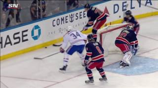 McCarron gets two minutes for head shot on Skjei