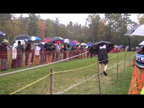 10 4 14 Gbury Girls XC Woods Trail Run at Thetford Academy 2