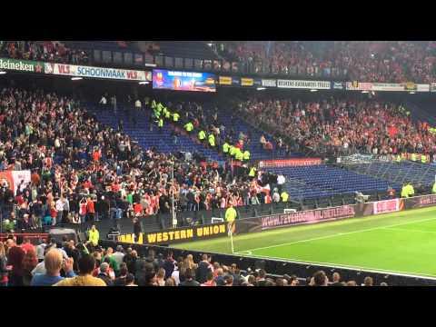 Standard Fans attack Feyenoord