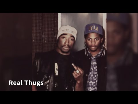 2Pac ft. Eazy-E & Ice Cube - Real Thugs [Legendado] HD