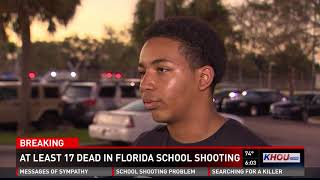 Student speaks about suspect after Florida school shooting leaves 17 dead