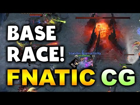 FNATIC vs CG + MEGAZ BASE RACE! - SEA ESL MAJOR DOTA 2