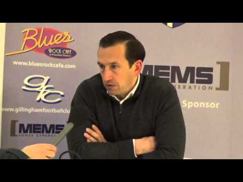 Justin Edinburgh post-Chesterfield