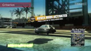 Burnout Paradise Big Surf Island How To Unlock All 9 New Cars - CRASH TV 35 -Diamond P12