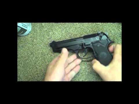 UnBoxing Beretta 92FS Fieldstriping Range Review Made in Italy Pistol ...