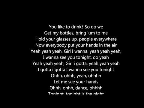 Chris Brown - Yeah X3 (songtext lyrics) video