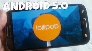 Samsung Galaxy S4 Android 5.0 Lollipop