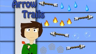 Minecraft - Arrow Trails with only one command | Vanilla Minecraft