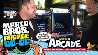 1983 Mario Bros. Arcade Co-Op Two Player Gameplay - World Record Attempt!
