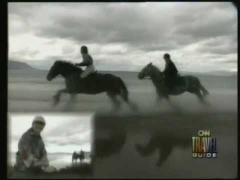 Horse Riding Ireland - Horse Trail Ride Ireland - CNN News Report