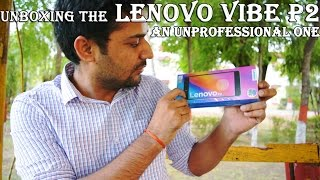 Lenovo Vibe P2 : What's inside the Box.
