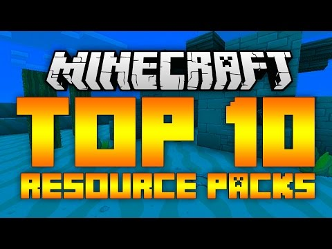 Top 10 Minecraft Resource Packs (Minecraft 1.8.8/1.8.7) - 2015 [HD]