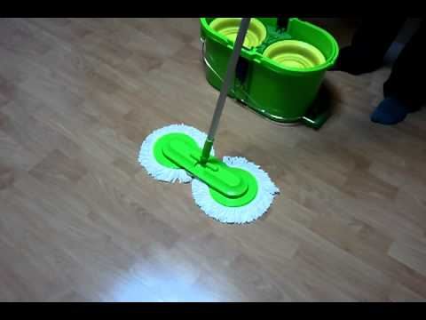 smart twin spin mop (from Korea)
