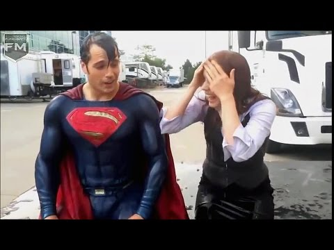 Henry Cavill & Amy Adams ICE BUCKET CHALLENGE «Batman v Superman»
