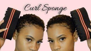 CURL SPONGE | Flat vs. Textured Side
