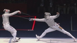 Korea Win Fencing Men's Sabre Team Gold - London 2012 Olympics