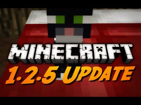 Minecraft 1.2.5 Official Released and Download