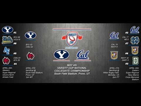 Varsity Cup National Championship: #1 BYU vs. #2 Cal