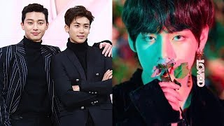Here's How Park Seojoon and Park Hyungsik Once Again Supports for Taehyung