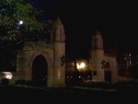 Video Animation On The Sample Gates At Indiana University (Bloomington, Indiana)