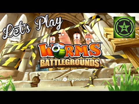 Lets Play - Worms Battlegrounds
