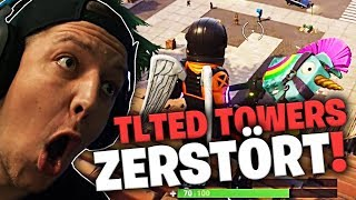 WIR ZERSTÖREN TILTED TOWERS | Fortnite | SpontanaBlack