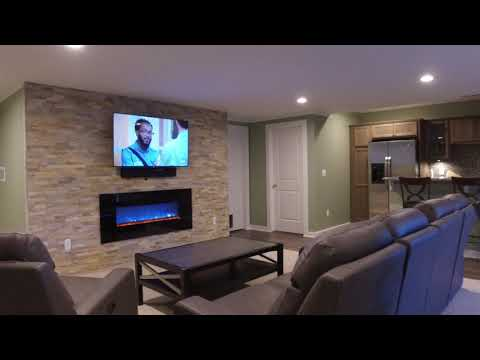 Milford, MI | Finished Basement Walk Through