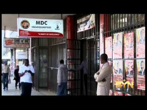 4147WD ZIMBABWE-POLICE MDC
