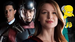First Reaction to Supergirl, Legends of Tomorrow Trailers - Channel Surfing Episode 244
