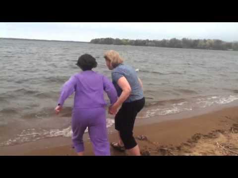Two NTCS Teachers Take a Dunk
