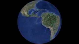 Earth Rotation - Silent Animation