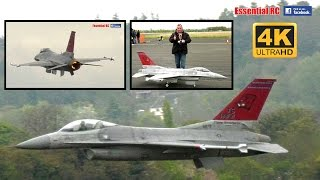 GIANT 1:6 SCALE General Dynamics F-16 'Fighting Falcon' [*UltraHD and 4K*]